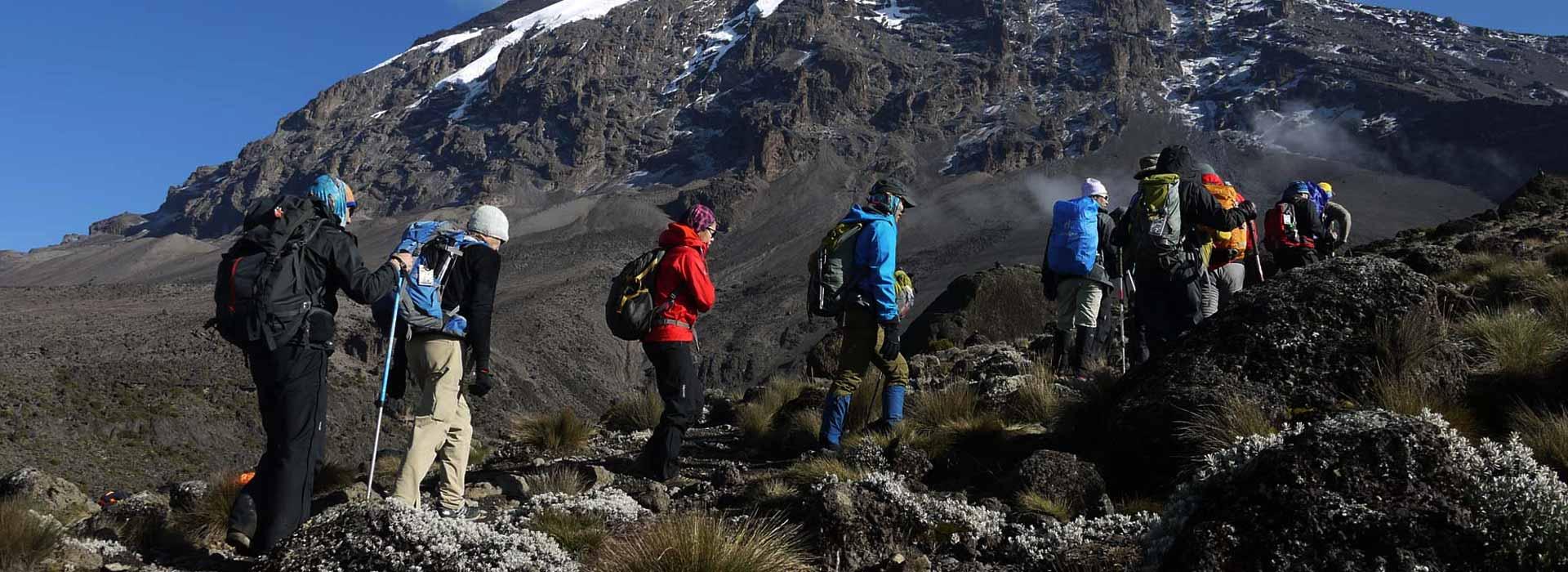 The Routes to Mount Kilimanjaro Summit
