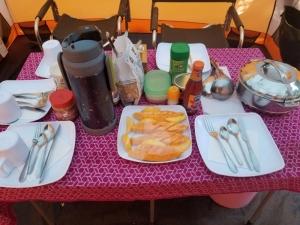Food on Mount Kilimanjaro