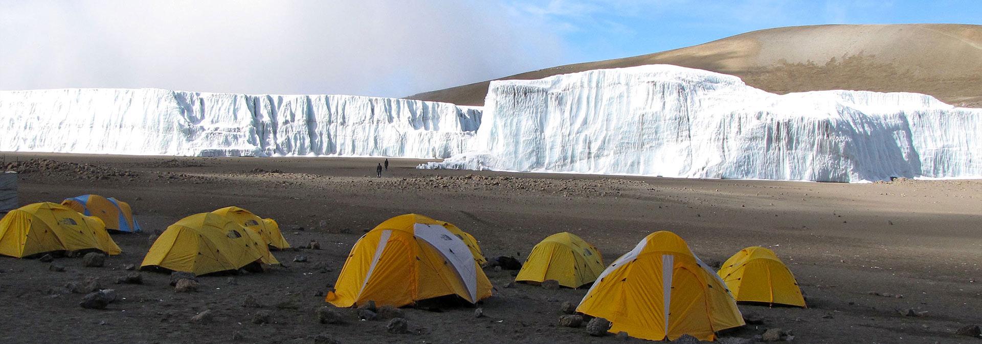 Where to Sleep on Mount Kilimanjaro