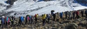 Kilimanjaro climbing group trek