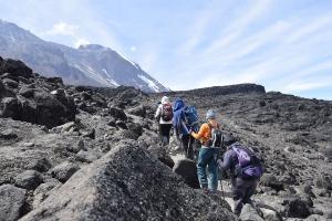 Machame route Kilimanjaro
