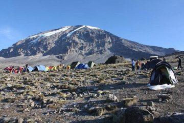 Shira Route 8 days Kilimanjaro Climb